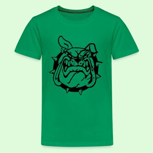 Bulldog souriant - T-shirt Premium Ado