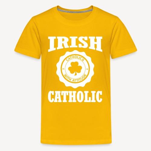 IRISH CATHOLIC - Teenage Premium T-Shirt