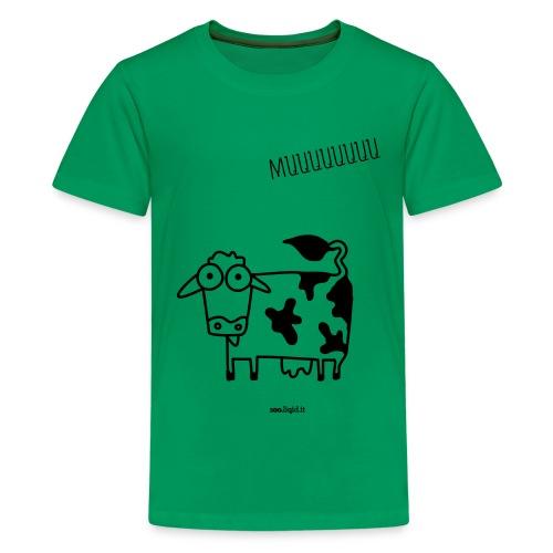 mucca - Maglietta Premium per ragazzi