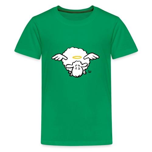 Angel Sheep - Premium T-skjorte for tenåringer