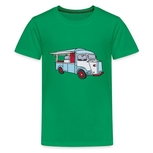 Imbisswagen Foodtruck c - Teenager Premium T-Shirt
