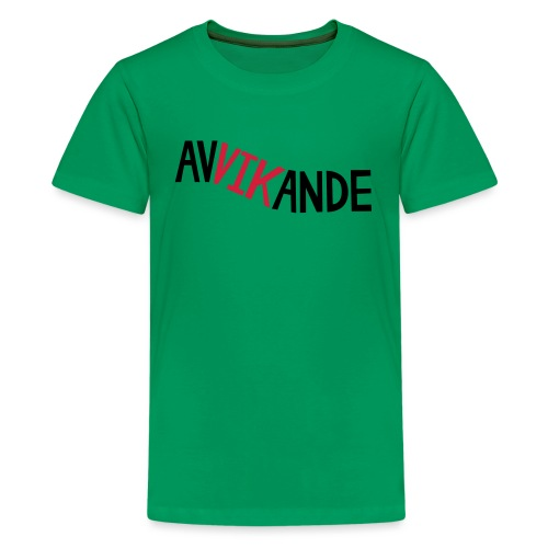 AVVIKANDE - Premium-T-shirt tonåring