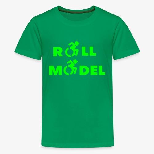 Rolstoel roll model 003 - Teenager Premium T-shirt