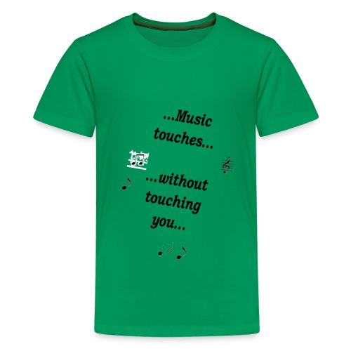 music_touches - Teenager Premium T-Shirt