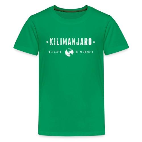 Kilimanjaro - T-shirt Premium Ado