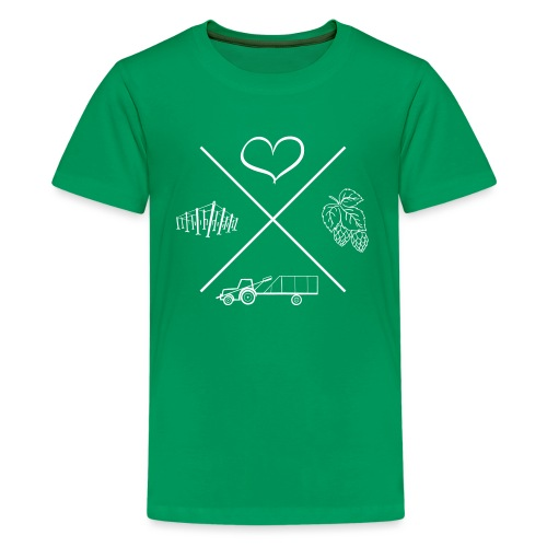 MiaSanHolledauerKind - Teenager Premium T-Shirt