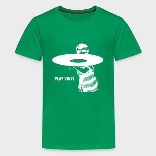 T-Record - Play Vinyl - Teenager Premium T-shirt