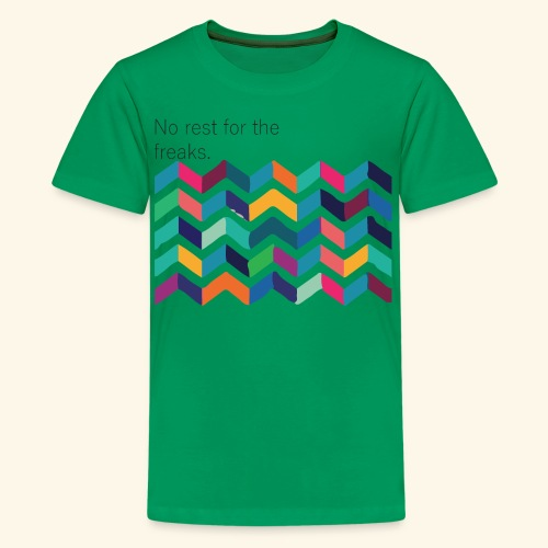 No rest - T-shirt Premium Ado
