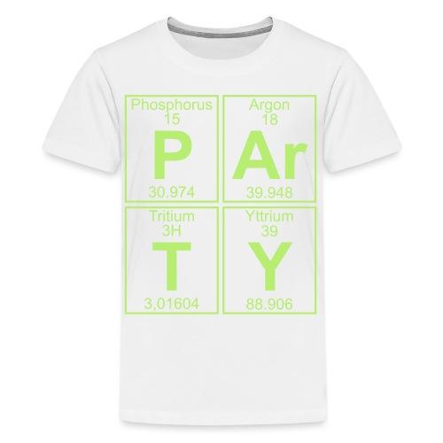 P-Ar-T-Y (party) - Teenage Premium T-Shirt