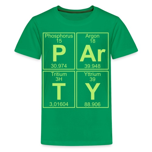 P-Ar-T-Y (party) - Teenage Premium T-Shirt