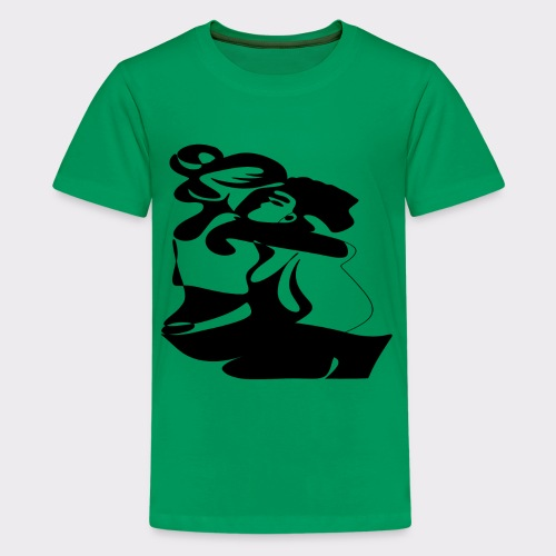 In Deinen Armen Liebespaar - Teenager Premium T-Shirt