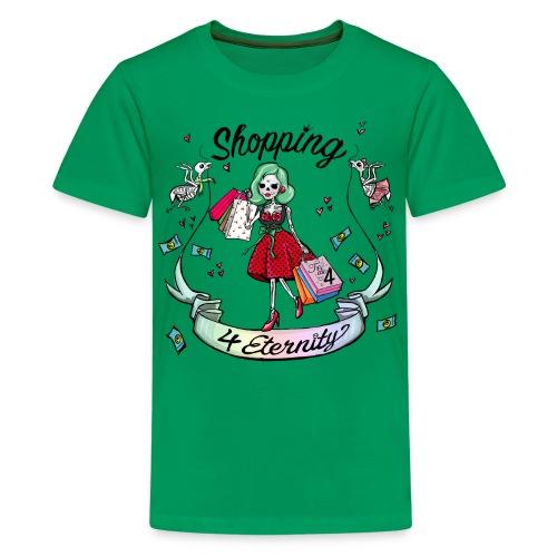 Shopping für immer & ewig - Teenager Premium T-Shirt