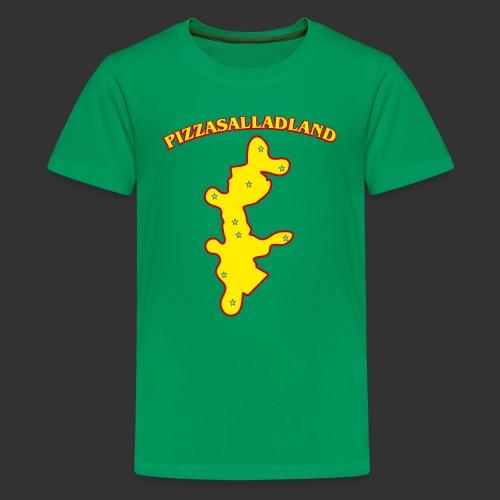 Pizzasalladland - Premium-T-shirt tonåring