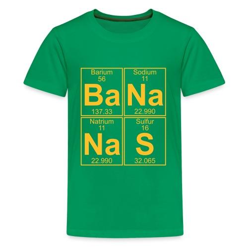 Ba-Na-Na-S (bananas) - Full - Teenage Premium T-Shirt