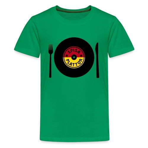 SPISA PLATTOR - Premium-T-shirt tonåring