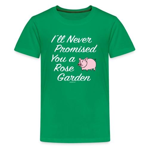 Hauskat Possu paidat, tekstiilit- ja lahjatuotteet - Teinien premium t-paita