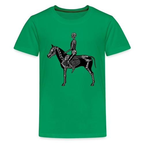 Reiter-Skelett - Koszulka młodzieżowa Premium