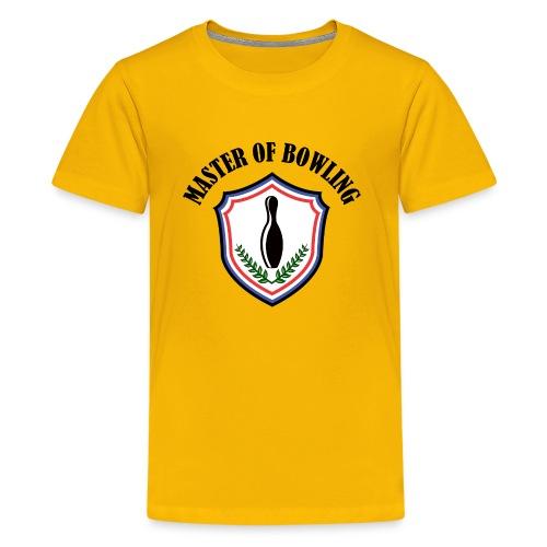 Master Of Bowling - T-shirt Premium Ado