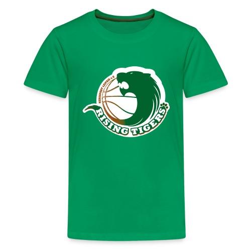 logo rising tigers farbig - Teenager Premium T-Shirt