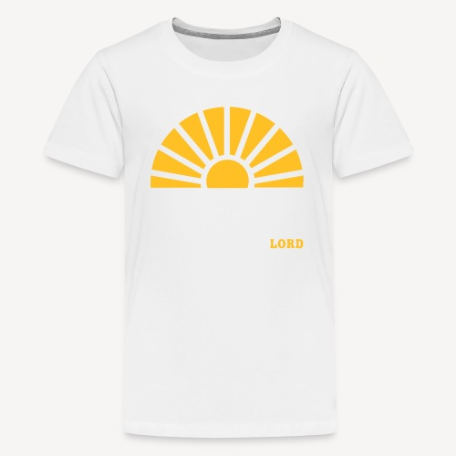 FROM THE RISING OF THE SUN - Teenage Premium T-Shirt