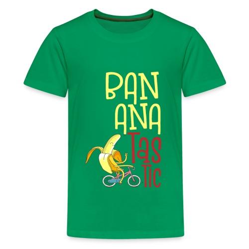 Bananatastic - Sportliche Banane Chill out - Teenager Premium T-Shirt
