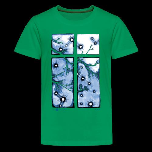 Für immer und ein Tag (blau) - Teenager Premium T-Shirt