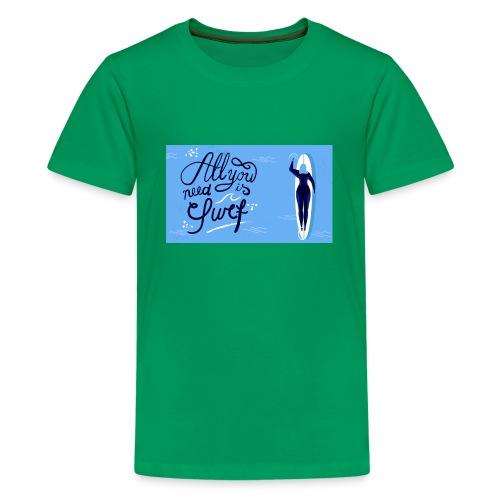 summer surfing - T-shirt Premium Ado