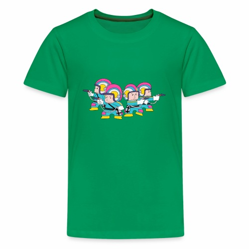 Emerald Guards - Teenage Premium T-Shirt