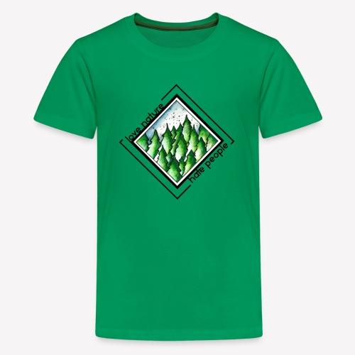 Love Nature - Teenager Premium T-Shirt
