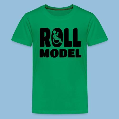 Roll model 016 - Teenager Premium T-shirt