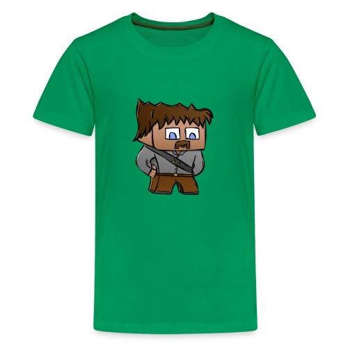 FinalTegning png - Premium T-skjorte for tenåringer