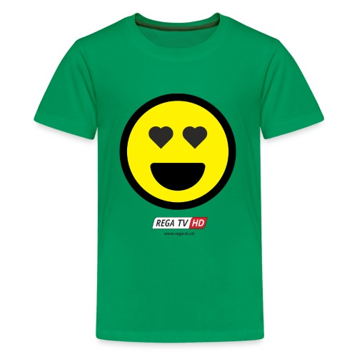 REGA-TV: Smile Herz - Teenager Premium T-Shirt