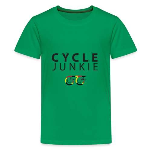 Cycle Junkie San Seba - Teenager Premium T-shirt