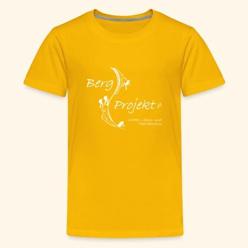 BP transp Schrift - Teenager Premium T-Shirt