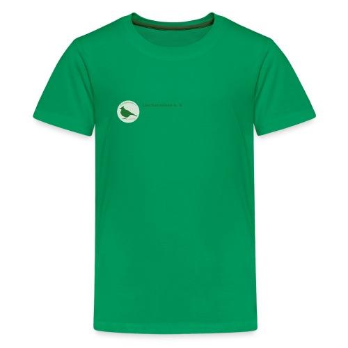 Kleines Vereinslogo - Teenager Premium T-Shirt