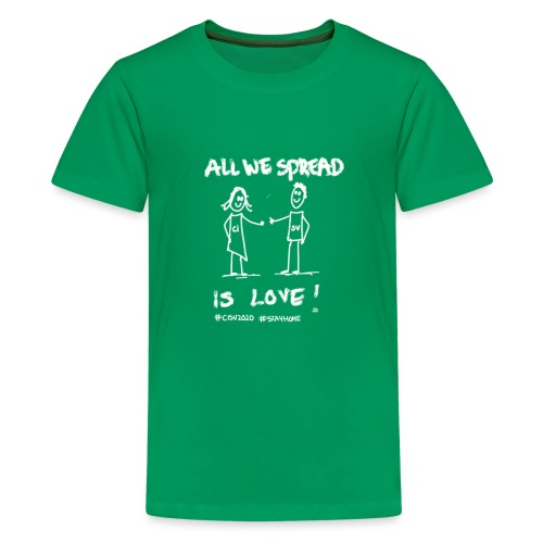 All We Spread Is Love - Teenager Premium T-shirt