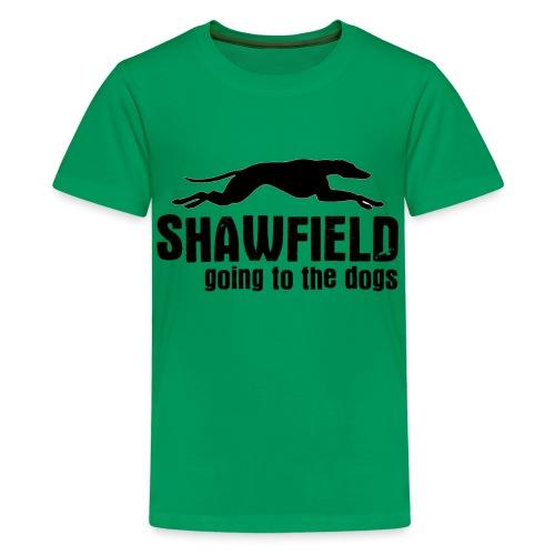 Shawfield - Teenage Premium T-Shirt