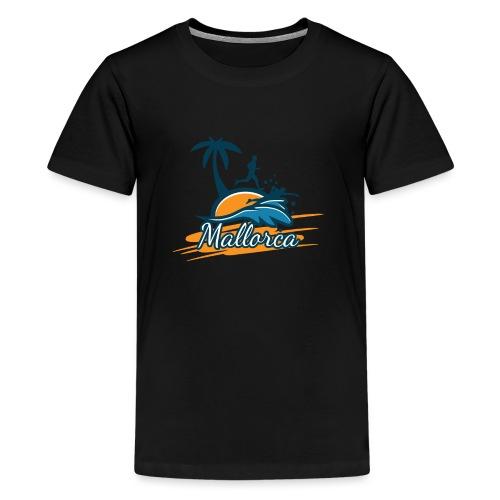 Joggen auf Mallorca - Sport - sportlich - Jogging - Teenager Premium T-Shirt