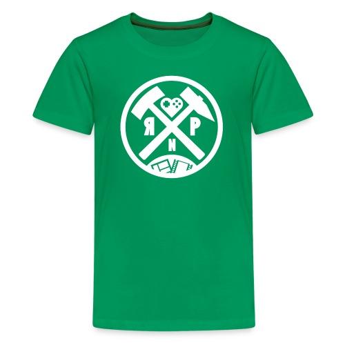 RuhrPott Nerdcast Logo 2.0 - Teenager Premium T-Shirt
