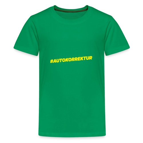 AUTOKORREKTUR - Teenage Premium T-Shirt