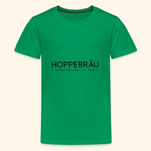 Logo neu Schriftzug - Teenager Premium T-Shirt