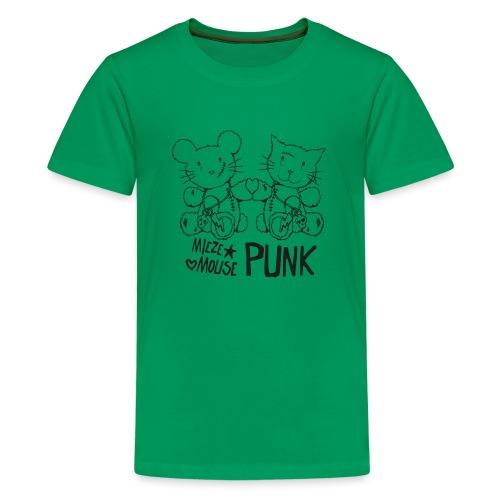 MIEZEMOUSE PUNK - Teenager Premium T-Shirt