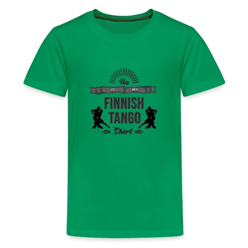 Finnischer Tango T-Shirt - Teenage Premium T-Shirt