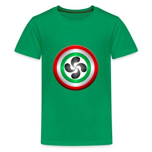 LAUBURU EUSKADI - Camiseta premium adolescente