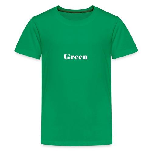 Green - Teenager Premium T-Shirt