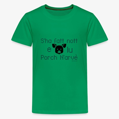 Porco torna a casa - Maglietta Premium per ragazzi