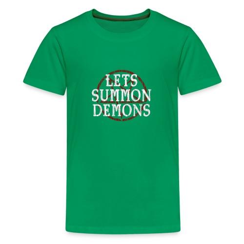 Summon Demons - Maglietta Premium per ragazzi