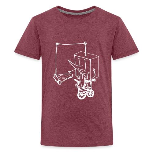 dude food - Teenage Premium T-Shirt