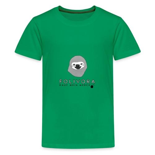 folivora Bomb - Teenager Premium T-Shirt