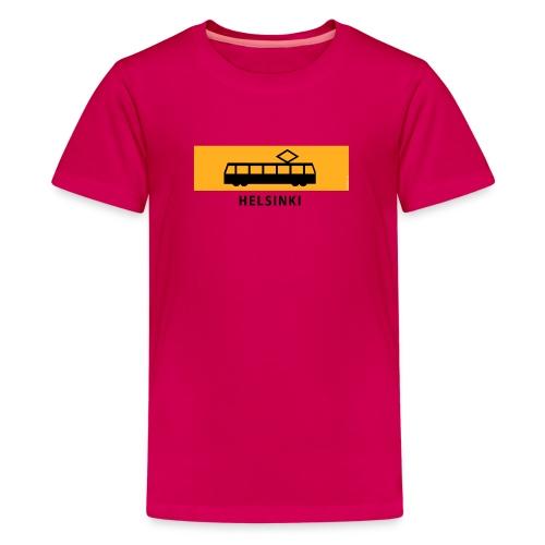 RATIKKA PYSÄKKI HELSINKI T-paidat ja lahjatuotteet - Teinien premium t-paita